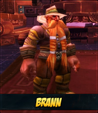 Brann Bronzebeard Mists of Pandaria