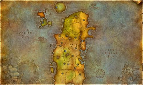 world of warcraft map kalimdor. World of Warcraft | Final